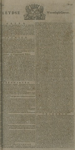 Leydse Courant 1722-08-19