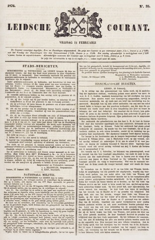 Leydse Courant 1876-02-11