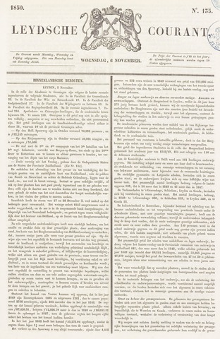 Leydse Courant 1850-11-06