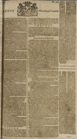 Leydse Courant 1772-09-30