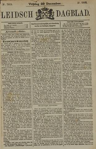 Leidsch Dagblad 1882-12-29