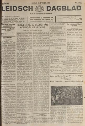 Leidsch Dagblad 1933-09-05