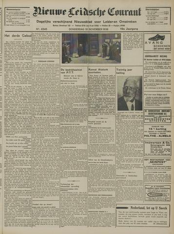 Nieuwe Leidsche Courant 1938-11-10