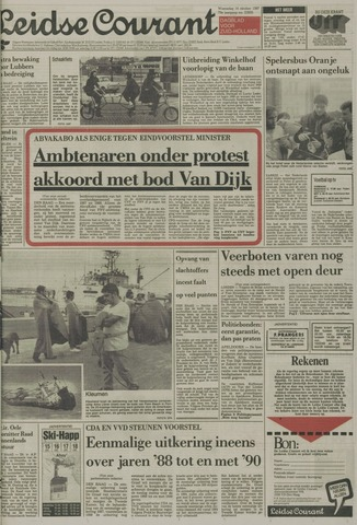 Leidse Courant 1987-10-14