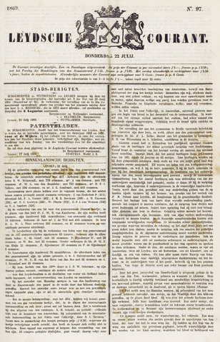 Leydse Courant 1869-07-22