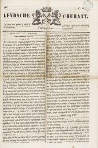 Leydse Courant 1862-05-07