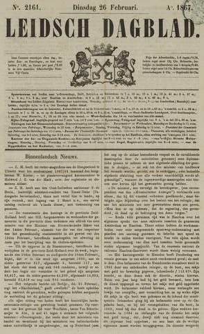 Leidsch Dagblad 1867-02-26