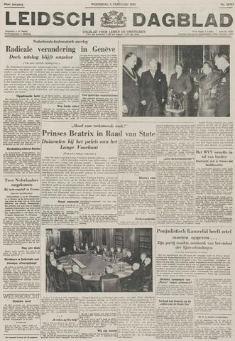 Leidsch Dagblad 1956-02-08