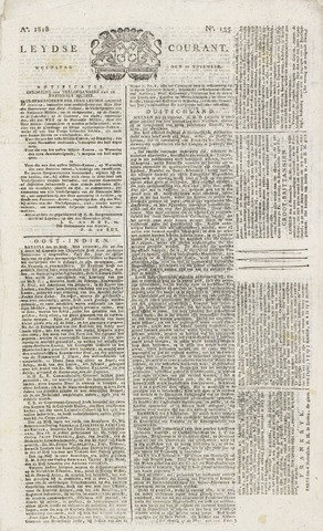 Leydse Courant 1818-11-11