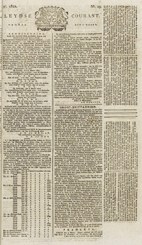 Leydse Courant 1822-03-08