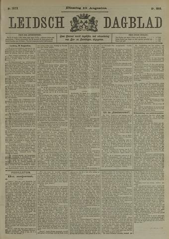 Leidsch Dagblad 1909-08-10