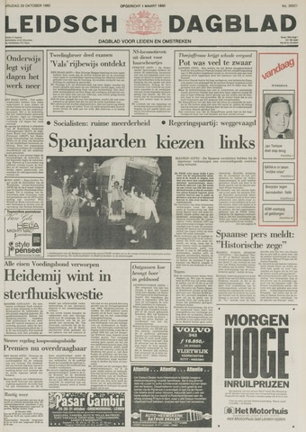 Leidsch Dagblad 1982-10-29