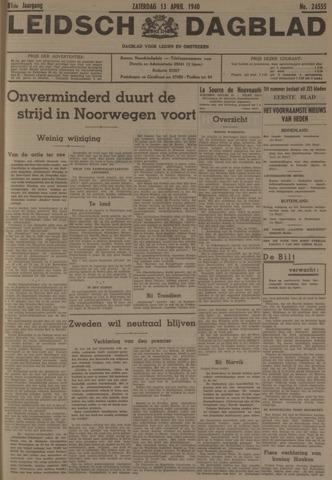 Leidsch Dagblad 1940-04-13