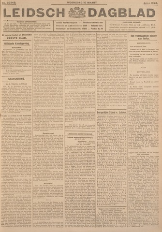 Leidsch Dagblad 1926-03-10