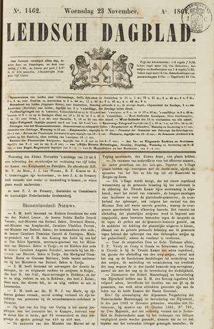 Leidsch Dagblad 1864-11-23