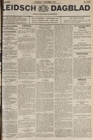 Leidsch Dagblad 1932-09-03