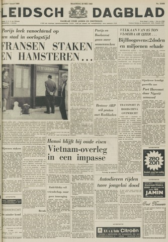 Leidsch Dagblad 1968-05-20