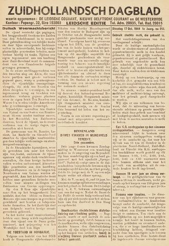 Zuidhollandsch Dagblad 1944-10-17