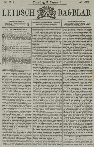 Leidsch Dagblad 1882-01-03