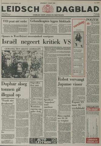 Leidsch Dagblad 1982-09-16