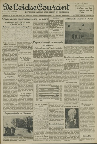 Leidse Courant 1952-03-03