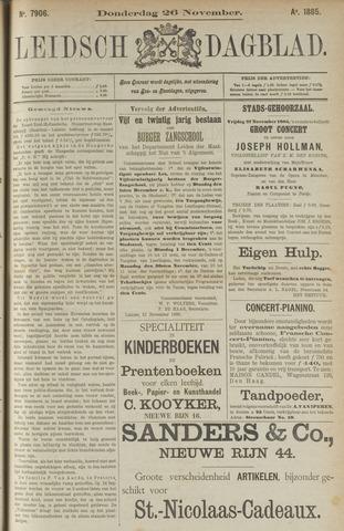 Leidsch Dagblad 1885-11-26