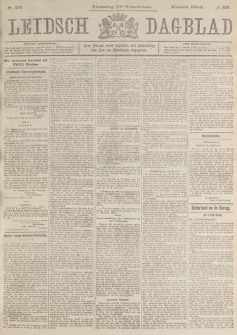Leidsch Dagblad 1916-11-28