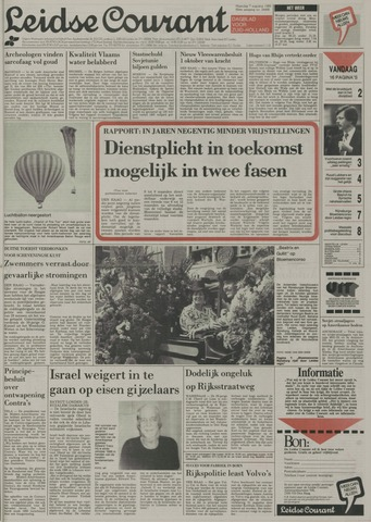 Leidse Courant 1989-08-07