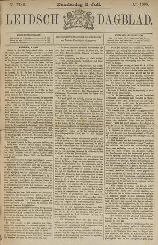 Leidsch Dagblad 1885-07-02
