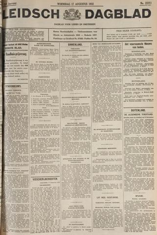 Leidsch Dagblad 1932-08-17