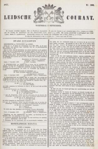 Leydse Courant 1877-09-05