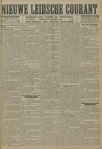 Nieuwe Leidsche Courant 1923-08-22