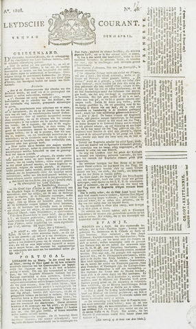 Leydse Courant 1828-04-18
