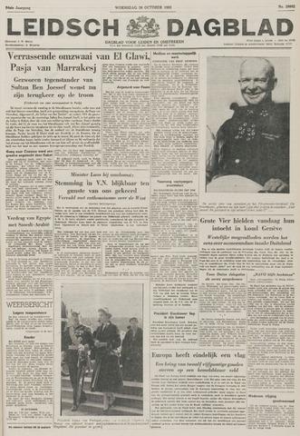 Leidsch Dagblad 1955-10-26