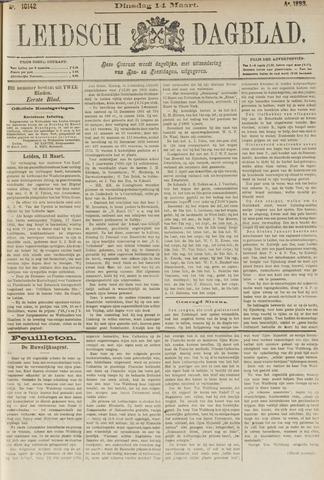 Leidsch Dagblad 1893-03-14