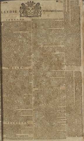 Leydse Courant 1770-11-28