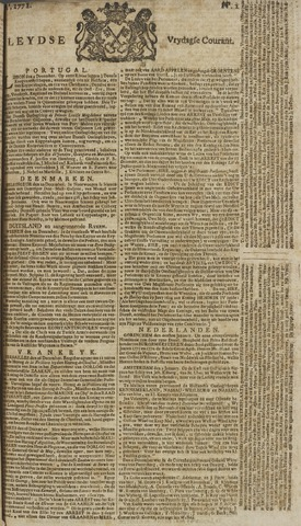 Leydse Courant 1771-01-04