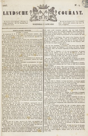 Leydse Courant 1867