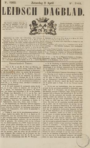 Leidsch Dagblad 1864-04-02