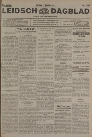 Leidsch Dagblad 1937-02-02