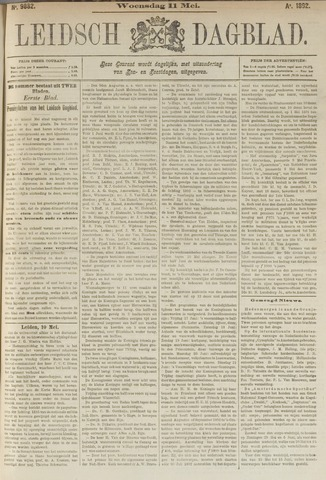 Leidsch Dagblad 1892-05-11