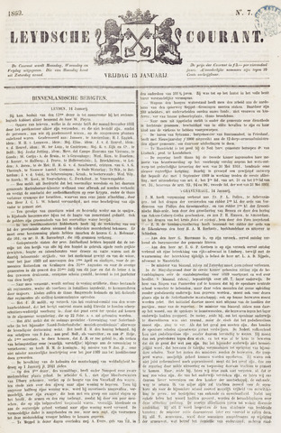 Leydse Courant 1869-01-15