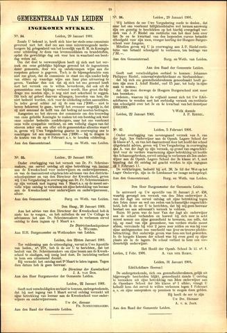 Handelingen van de Raad 1901-01-29