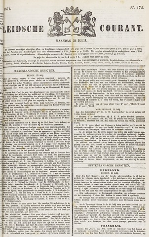Leydse Courant 1871-07-24