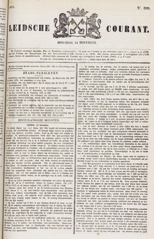 Leydse Courant 1876-11-14
