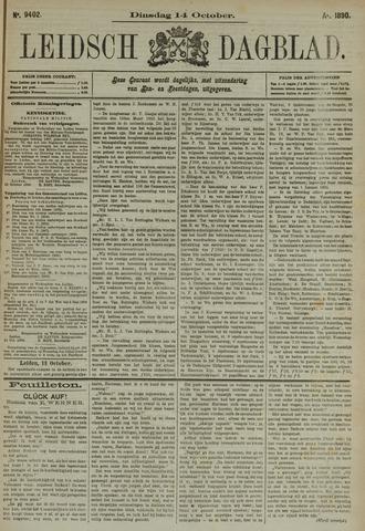 Leidsch Dagblad 1890-10-14
