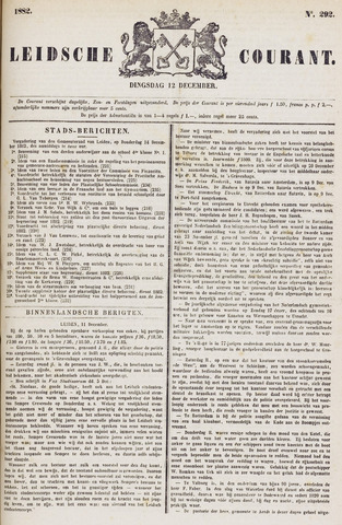 Leydse Courant 1882-12-12