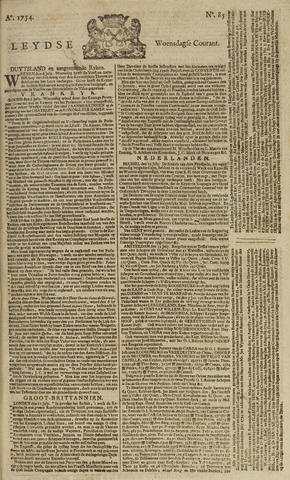 Leydse Courant 1754-07-17