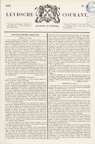 Leydse Courant 1850-01-28