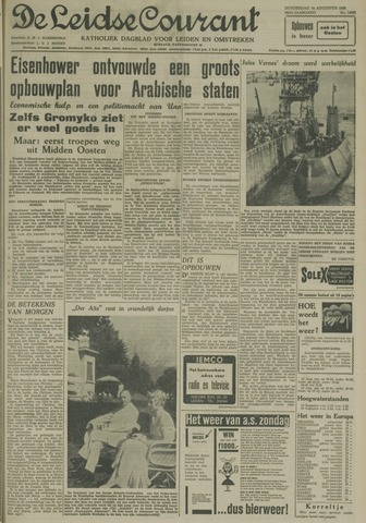 Leidse Courant 1958-08-14